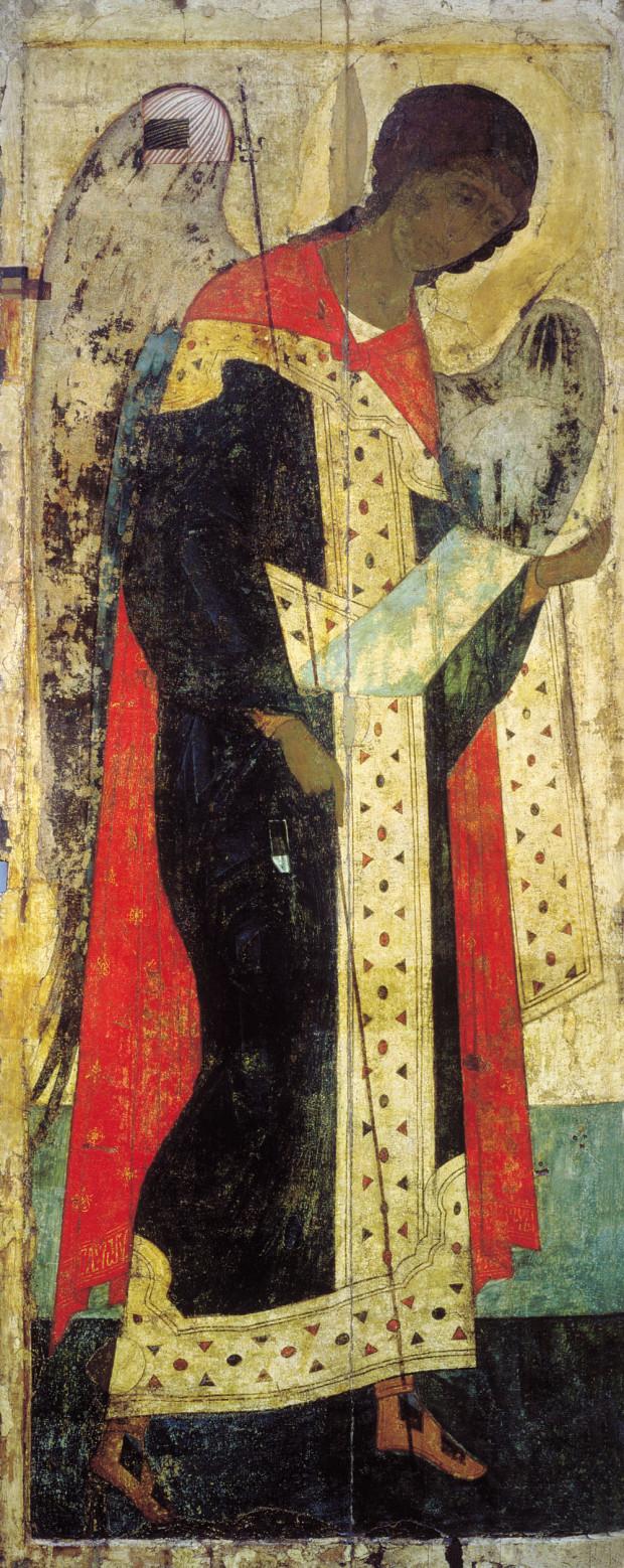 Αρχάγγελος Μιχαήλ - Αντρέι Ρουμπλιόβ - Ναός της Ανάληψης στο Βλαδιμίρ, 1408