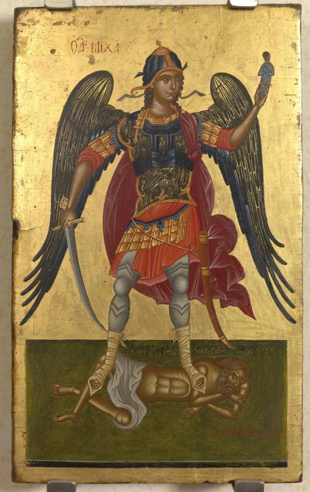 Αρχάγγελος Μιχαήλ - Αντώνιος Μηταράς, 17ος αιώνας μ.Χ.