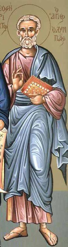 Άγιος Ολυμπάς ο Απόστολος από τους Εβδομήκοντα