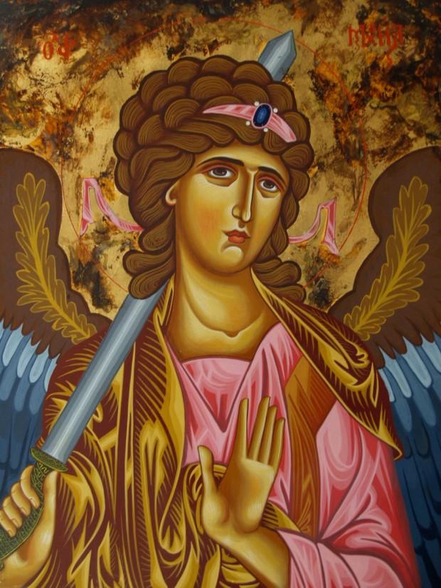 Αρχάγγελος Μιχαήλ - Λυδία Γουριώτη© (lydiagourioti-iconography.blogspot.com)