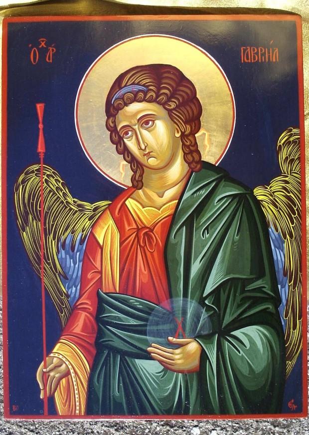 Αρχάγγελος Γαβριήλ - Χρωστήρας© (xrostiras.blogspot.com)