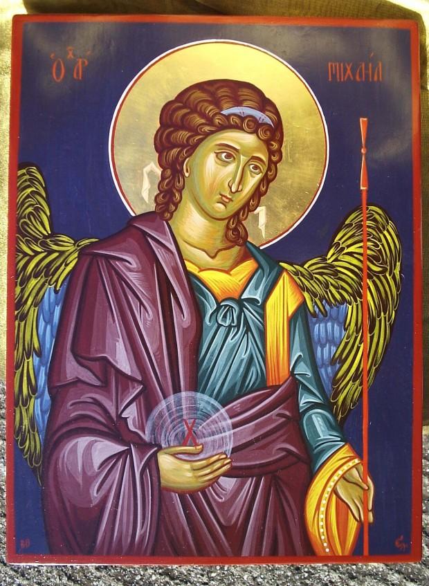 Αρχάγγελος Μιχαήλ - Χρωστήρας© (xrostiras.blogspot.com)