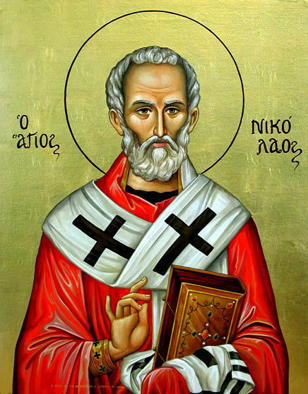 Άγιος Νικόλαος Αρχιεπίσκοπος Μύρων της Λυκίας