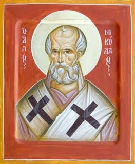 Άγιος Νικόλαος Αρχιεπίσκοπος Μύρων της Λυκίας - Julia Hayes© (www.ikonographics.net)