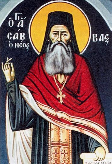 Όσιος Σάββας ο εν Καλύμνω (1862-1948)01