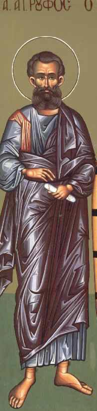 Άγιος Ρούφος ο Απόστολος από τους Ο'