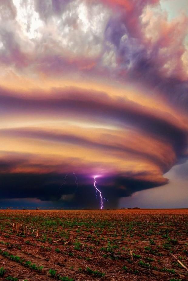 Diane Shellenberger - Stormy sky