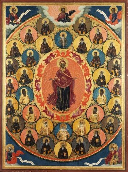 Σύναξη των Αγιορειτών Πατέρων - 18ος αι. μ.Χ. -
