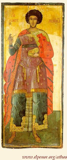 Άγιος Παντελεήμων ο Μεγαλομάρτυς και Ιαματικός - 16ος και 18ος αι. μ.Χ. - Πρωτάτο, Άγιον Όρος