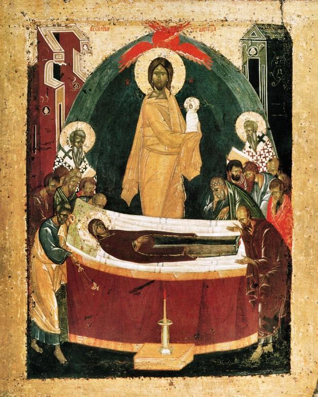 Κοίμηση της Θεοτόκου - Θεοφάνης ο Έλληνας (1392 μ.Χ.)