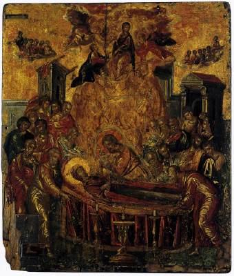 Κοίμηση της Θεοτόκου - Δομήνικος Θεοτοκόπουλος (El Greco) 16ος αι. μ.Χ. -