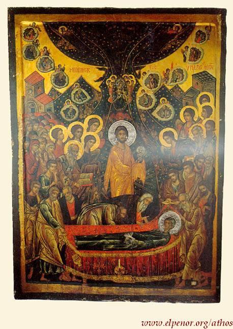 Κοίμηση της Θεοτόκου - 16ος και 18ος αι. μ.Χ. - Πρωτάτο, Άγιον Όρος