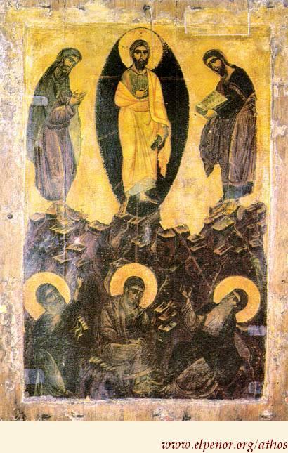 Μεταμόρφωση του Σωτήρος Χριστού - τέλος 12ου αι. μ.Χ. - Mονή Ξενοφώντος, Άγιον Όρος