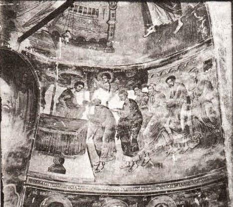 Η Θεία Μετάληψη, Ιερά Μονή Αγ. Νεοφύτου Κύπρου, 1441