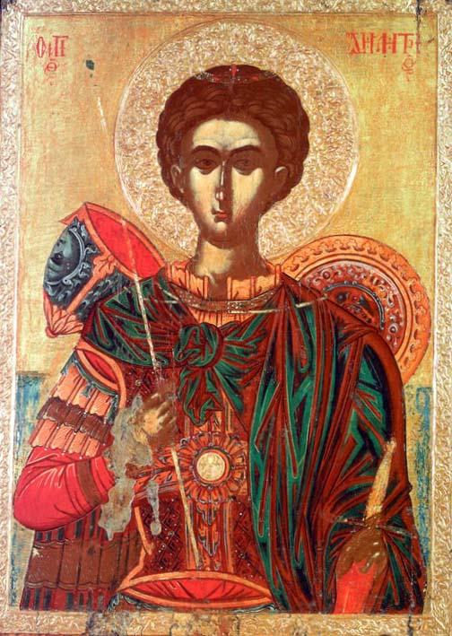 Άγιος Δημήτριος ο Μυροβλύτης - Φράγγος Κατελάνος, β' μισό του 16ου αι. Βυζαντινό Μουσείο