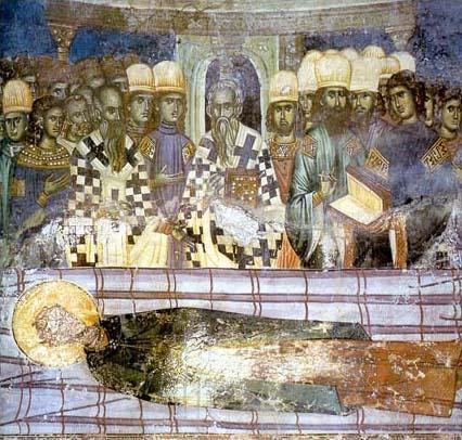 Η Κοίμησις του Αγίου Δημητρίου. Πατριαρχείο του Πεκ, Κόσσοβο
