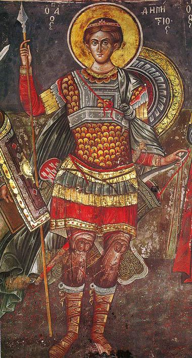 Άγιος Δημήτριος ο Μυροβλύτης - Μονή Κουτλουμουσίου, 1540 μ.Χ.