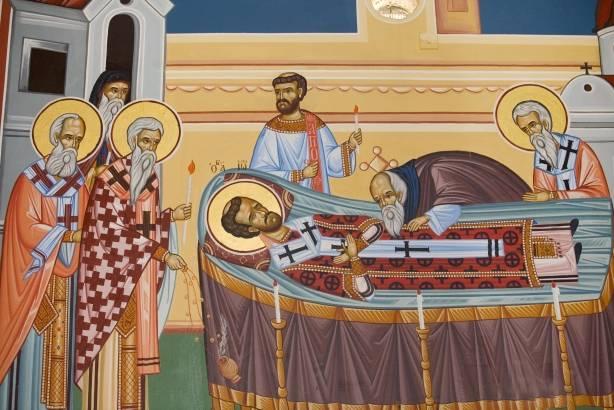 Κοίμηση ιερού Χρυσοστόμου