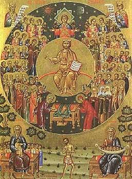 Όσιος Ευθύμιος ηγούμενος Βατοπεδίου και οι Δώδεκα μοναχοί Βατοπεδινοί