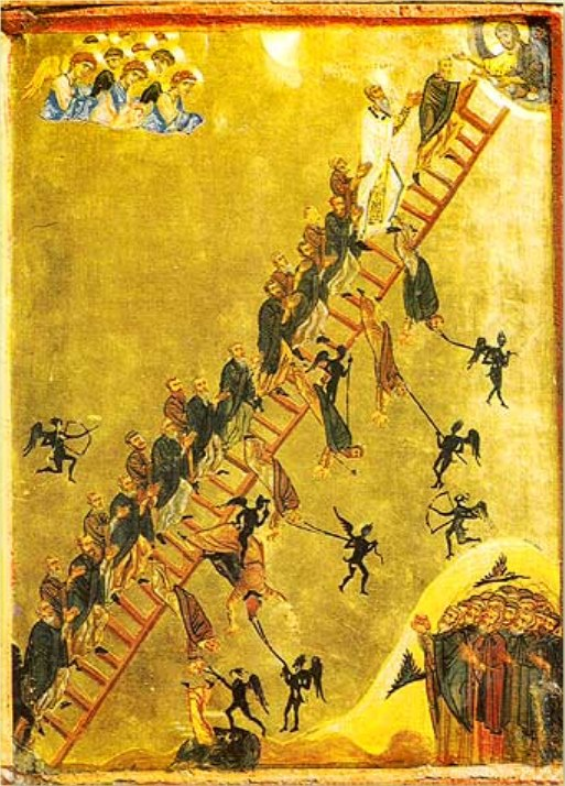 Άγιος Ιωάννης συγγραφέας της Κλίμακος - Μονή Αγίας Αικατερίνης Σινά 12ος αιώνας