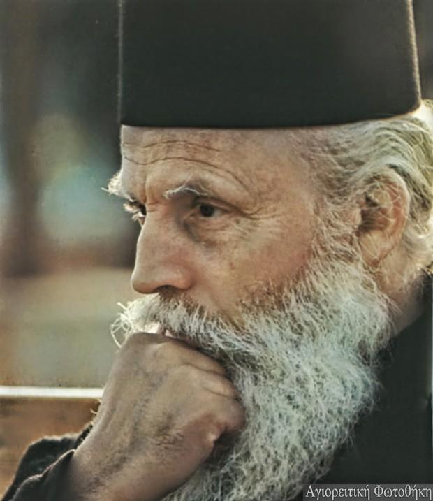 Μάξιμος ιερομόναχος Αγιοβασιλειάτης (1915-2009) (Φωτογραφία: Emanuele Grassi)