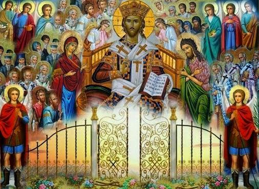 christ and saints 2
