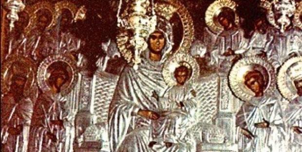 Η Παναγία Οικονόμισσα της Λαύρας του Αγίου Αθανασίου