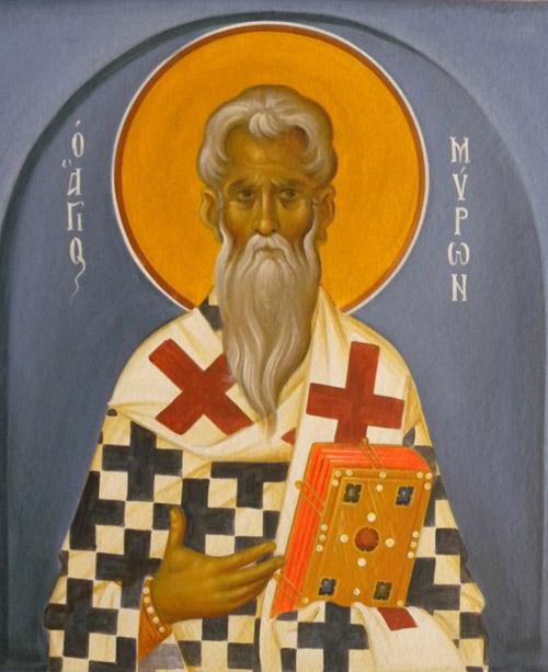 Άγιος Μύρων - Ι. Ν. Οσίων Παρθενίου και Ευμενίου των εν Κουδουμά, δια χειρός Παναγιώτη Μόσχου (2006 μ.Χ.)