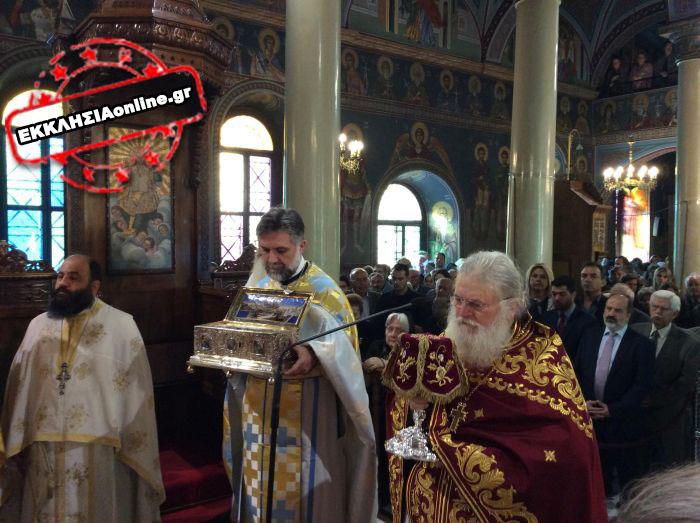 Η Χαλκίδα εορτάζει τον Πολιούχο της Άγιο Δημήτριο παρουσία της Τιμίας Ζώνης12