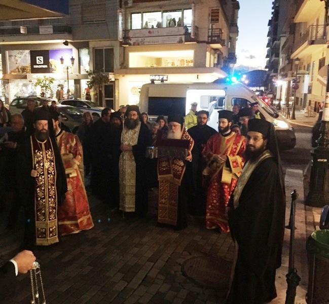 Μεγίστη ευλογία για την πόλη του Βόλου η έλευση του Ιερού Λειψάνου του Αγίου Χαραλάμπους02