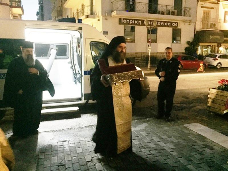 Μεγίστη ευλογία για την πόλη του Βόλου η έλευση του Ιερού Λειψάνου του Αγίου Χαραλάμπους03