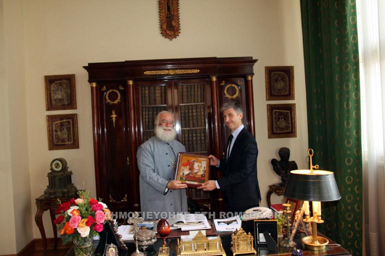 Σημαντική η συμπαράσταση της Κύπρου στο Πατριαρχείο Αλεξανδρείας