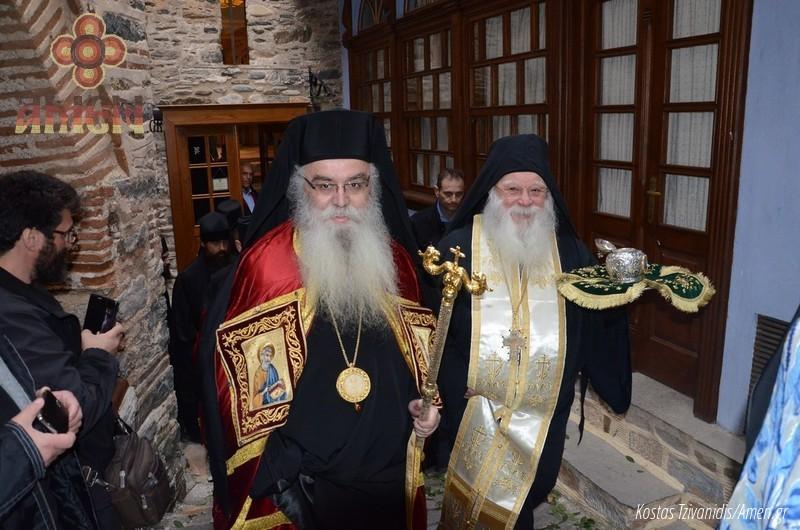 Φωτογραφίες και βίντεο από τη σημερινή πανήγυρη στην Ιερά Μονή Ξενοφώντος Αγίου Όρους02