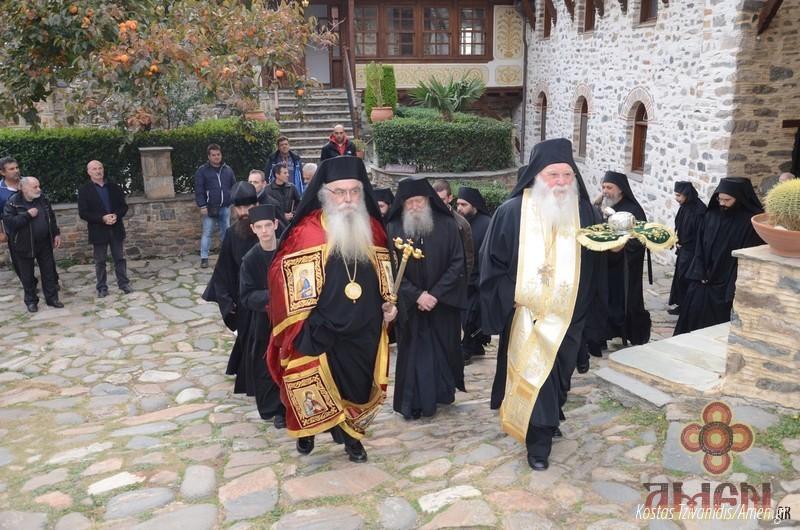 Φωτογραφίες και βίντεο από τη σημερινή πανήγυρη στην Ιερά Μονή Ξενοφώντος Αγίου Όρους03