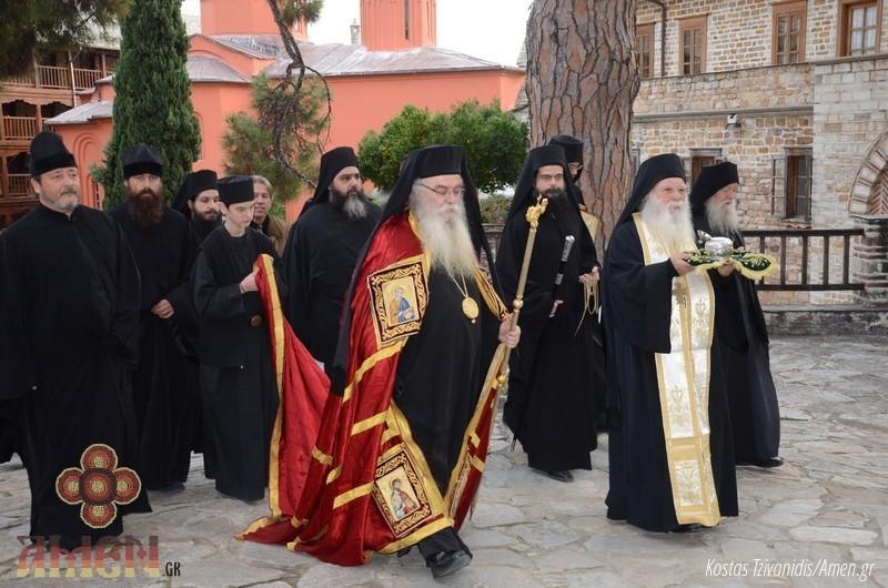 Φωτογραφίες και βίντεο από τη σημερινή πανήγυρη στην Ιερά Μονή Ξενοφώντος Αγίου Όρους05