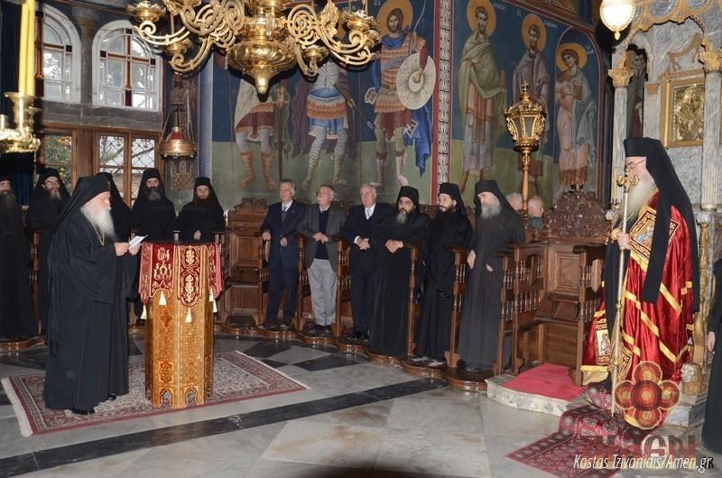 Φωτογραφίες και βίντεο από τη σημερινή πανήγυρη στην Ιερά Μονή Ξενοφώντος Αγίου Όρους07