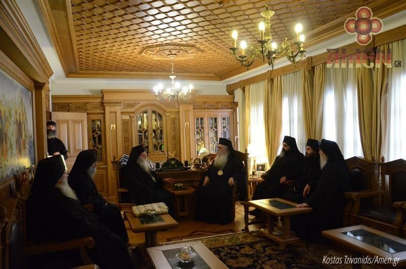 Φωτογραφίες και βίντεο από τη σημερινή πανήγυρη στην Ιερά Μονή Ξενοφώντος Αγίου Όρους08