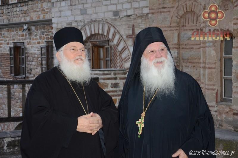 Φωτογραφίες και βίντεο από τη σημερινή πανήγυρη στην Ιερά Μονή Ξενοφώντος Αγίου Όρους10