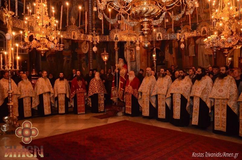 Φωτογραφίες και βίντεο από τη σημερινή πανήγυρη στην Ιερά Μονή Ξενοφώντος Αγίου Όρους11