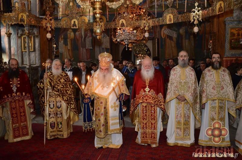 Φωτογραφίες και βίντεο από τη σημερινή πανήγυρη στην Ιερά Μονή Ξενοφώντος Αγίου Όρους16