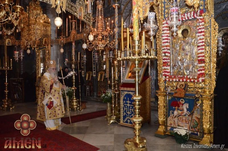 Φωτογραφίες και βίντεο από τη σημερινή πανήγυρη στην Ιερά Μονή Ξενοφώντος Αγίου Όρους18