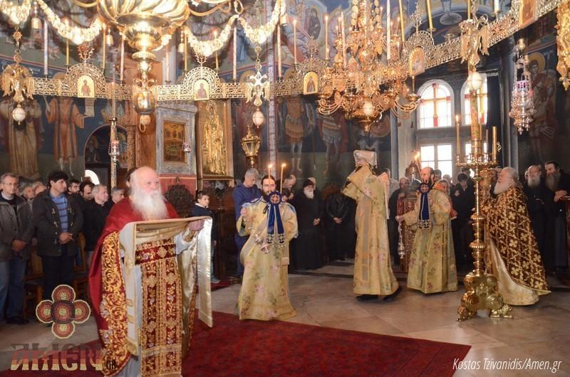 Φωτογραφίες και βίντεο από τη σημερινή πανήγυρη στην Ιερά Μονή Ξενοφώντος Αγίου Όρους21