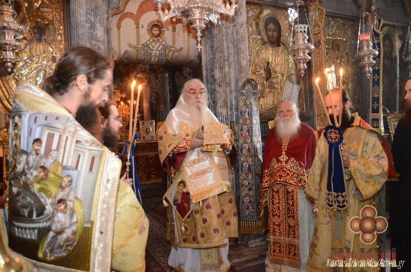 Φωτογραφίες και βίντεο από τη σημερινή πανήγυρη στην Ιερά Μονή Ξενοφώντος Αγίου Όρους22