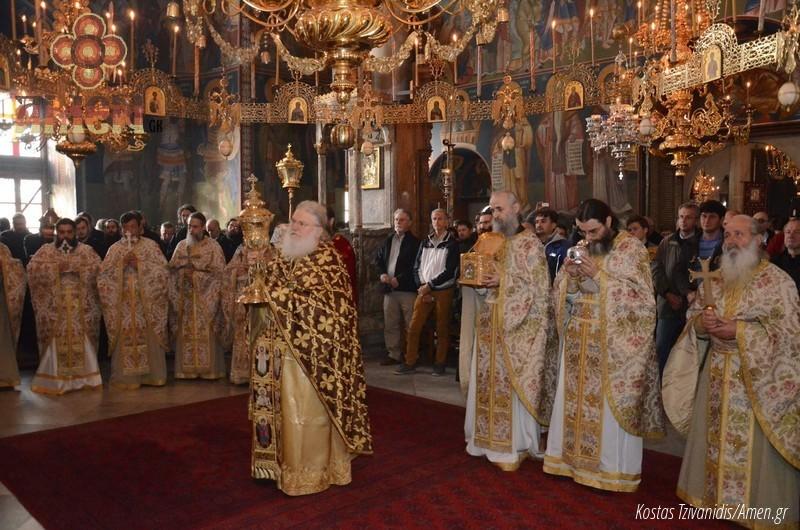 Φωτογραφίες και βίντεο από τη σημερινή πανήγυρη στην Ιερά Μονή Ξενοφώντος Αγίου Όρους23