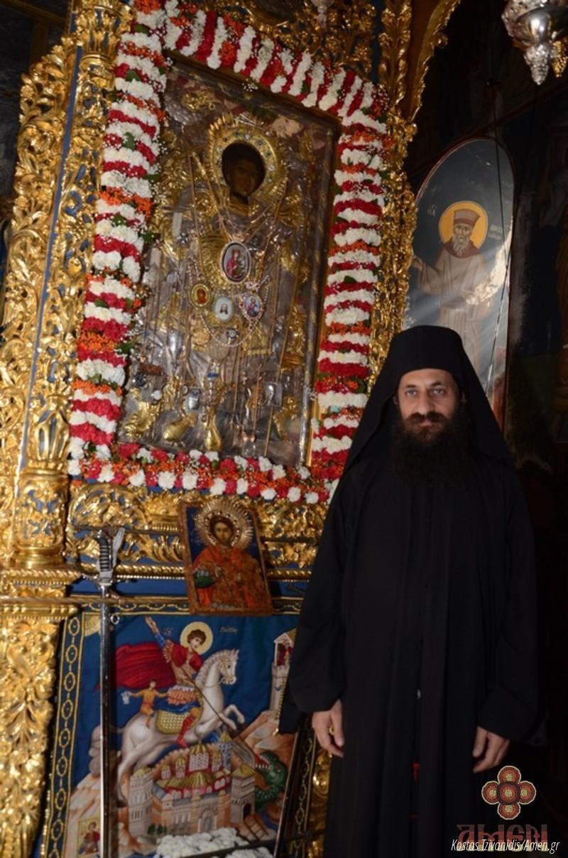 Φωτογραφίες και βίντεο από τη σημερινή πανήγυρη στην Ιερά Μονή Ξενοφώντος Αγίου Όρους28