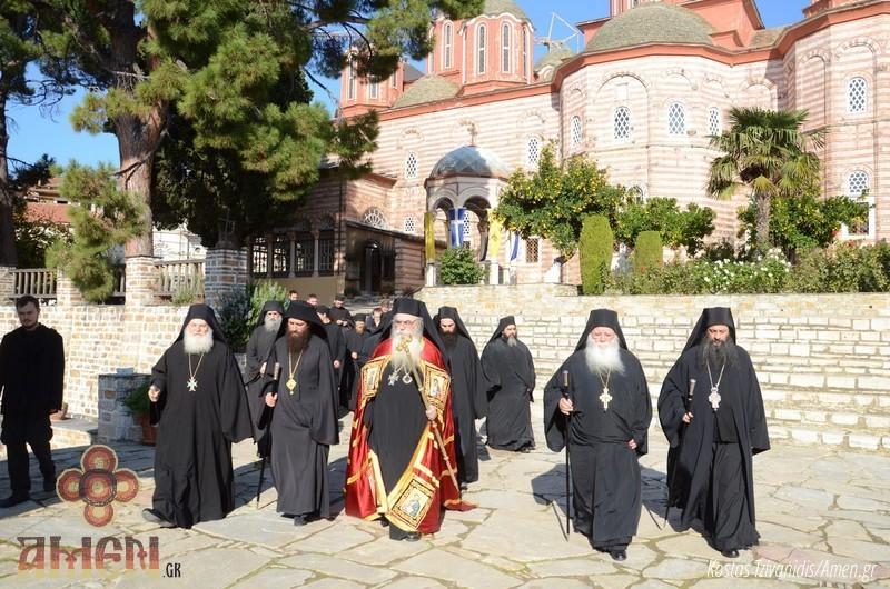 Φωτογραφίες και βίντεο από τη σημερινή πανήγυρη στην Ιερά Μονή Ξενοφώντος Αγίου Όρους31