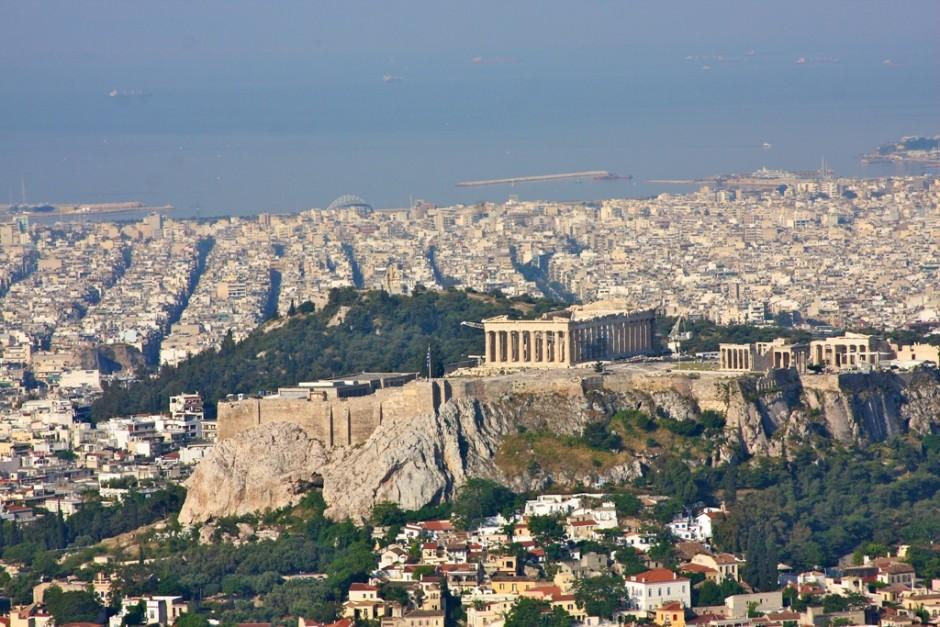 Ευχαριστία στην Αγιασμένη μου Αθήνα