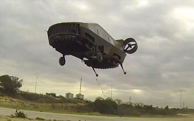 tactical-robotics.com Το μονοκινητήριο, εσωτερικού στροφείου σκάφος απογειώθηκε για πρώτη φορά σε προσωρινές εγκαταστάσεις δοκιμών στη Μεγιδδώ, αφού δόθηκε σχετική άδεια από την ισραηλινή υπηρεσία πολιτικής αεροπορίας.