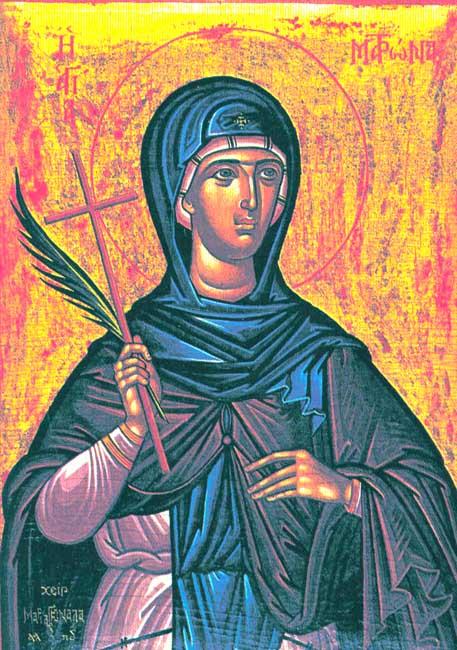 Αποτέλεσμα εικόνας για η οσια ματρωνα εν θεσσαλονικη