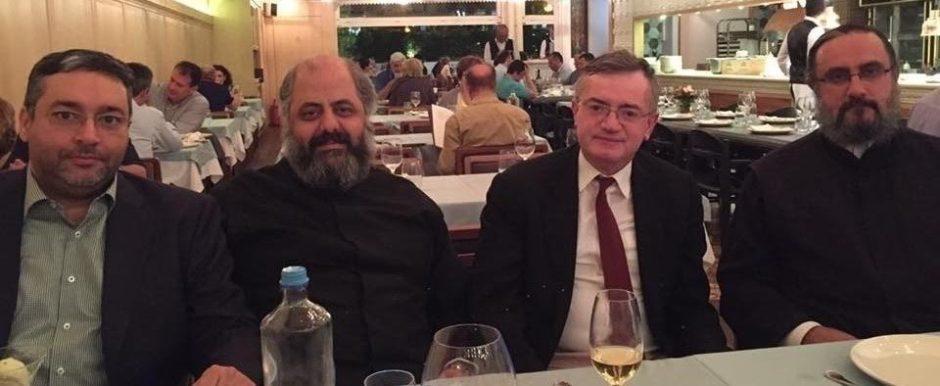 Για τους Ελληνορθόδοξους της Συρίας συζήτησε ο Άκης Γεροντόπουλος με δυο Επισκόπους